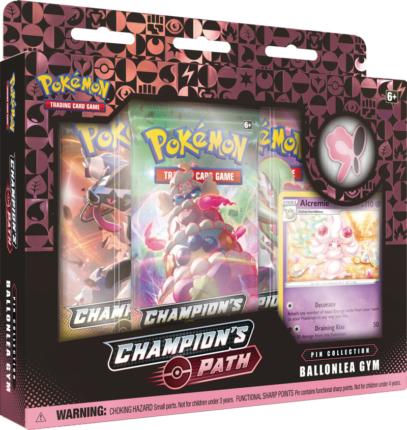 Pokemon - TCG - Pin Collection - Champions Path (Wave 2)