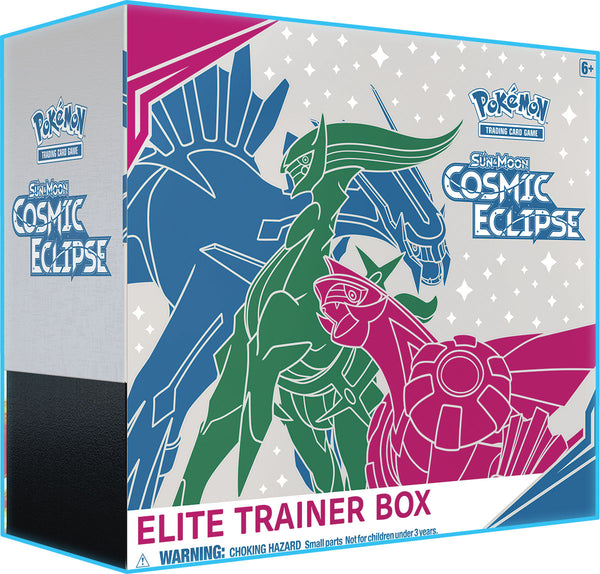 Pokemon - TCG - Cosmic Eclipse Elite Trainer Box Options