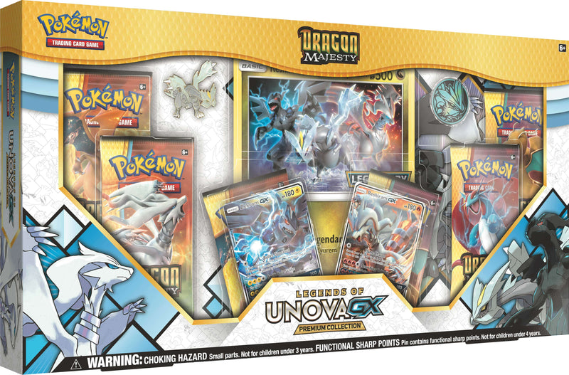 Pokemon - TCG - Dragon Majesty Legends of Unova Premium GX