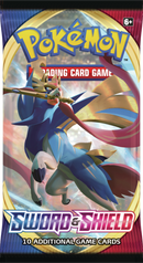 Pokemon - TCG - Sword & Shield Base Set Booster Pack Options