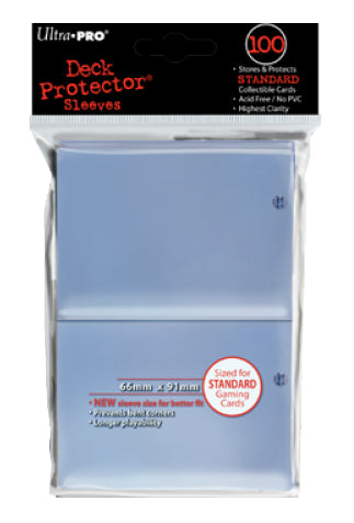 ULTRA PRO Deck Protector - Standard 100ct Clear