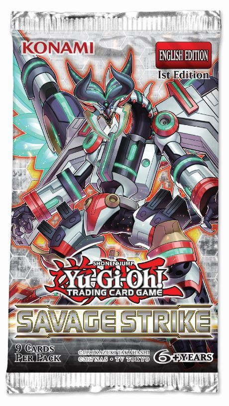 YU-GI-OH! - TCG - Savage Strike Booster Pack Options