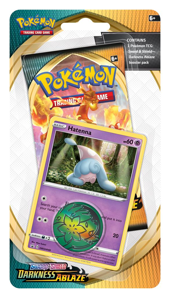 Pokemon - TCG - Darkness Ablaze Checklane Blister