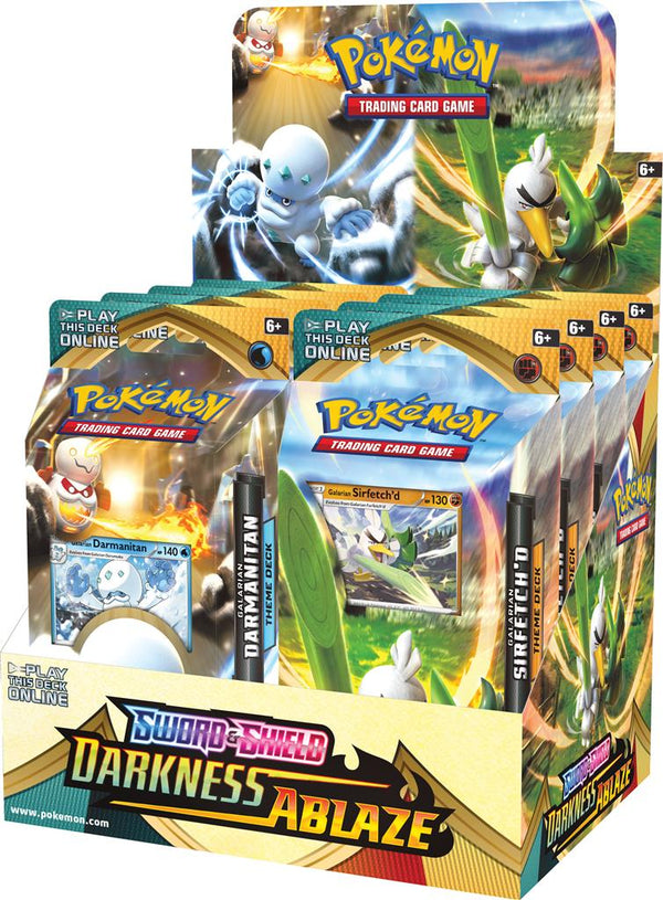 Pokemon - TCG - Darkness Ablaze Theme Deck