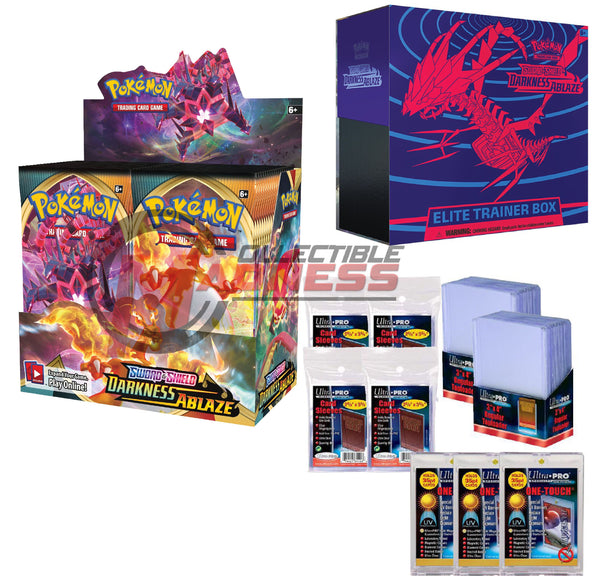 Pokemon - TCG - Darkness Ablaze Booster Box Bundle #9