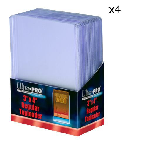 "ULTRA PRO Top Loader - 3 x 4"" 35pt Regular Clear"