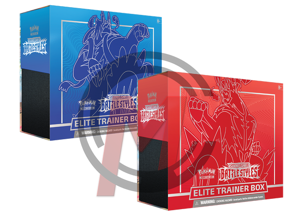 Pokemon - TCG - Battle Styles Elite Trainer Box Options