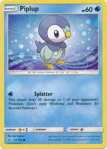 031 / 156 Piplup-Common