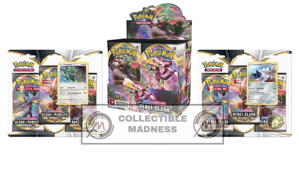 Pokemon - TCG - Rebel Clash Booster Box Bundle #1