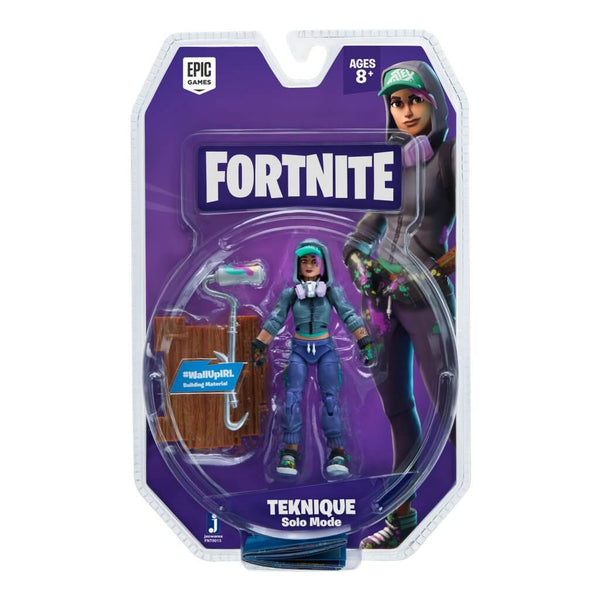 Fortnite Solo Mode Figure 1 Figure Pack Teknique
