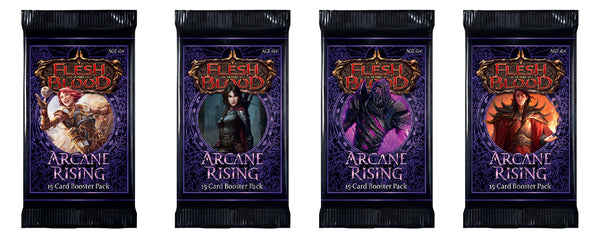 Flesh And Blood - TCG - Arcane Rising Booster Pack | Artwork Set | 1st Edition