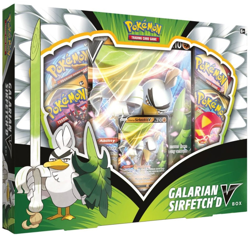 Pokemon - TCG - Galarian Sirfetch'd V Box