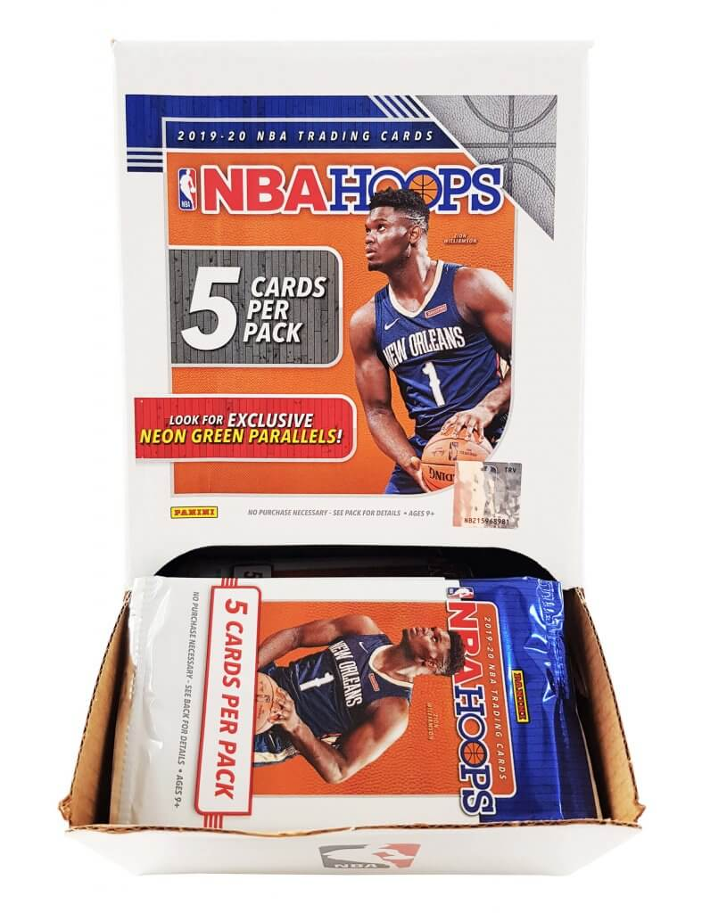 PANINI 2019-20 Hoops Basketball GRAVITY FEED Complete Box