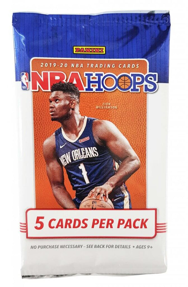 PANINI 2019-20 Hoops Basketball Booster Pack Options