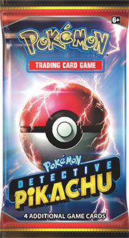 Pokemon - TCG - Detective Pikachu Booster Pack Options
