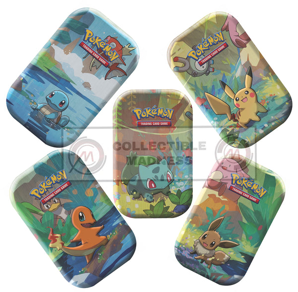 Pokemon - TCG - Kanto Friends Mini Tin