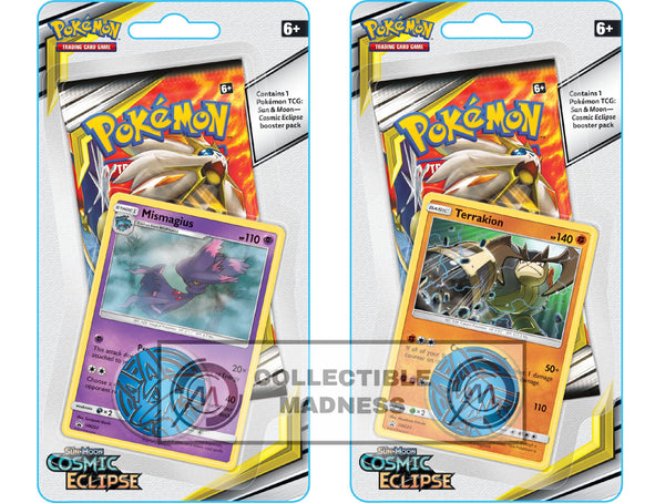 Pokemon - TCG - Cosmic Eclipse Checklane Blister