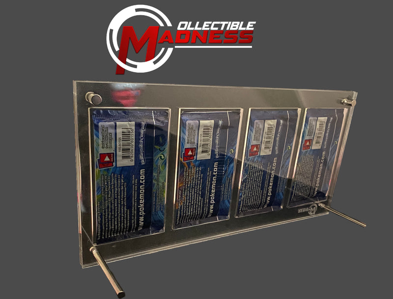 Acrylic Storage and Display Case - 4x Booster Pack