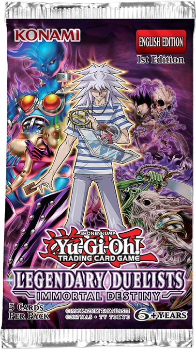 YU-GI-OH! - TCG - Legendary Duelist: Immortal Destiny Booster Pack Options