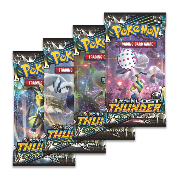 Pokemon - TCG - Lost Thunder Booster Pack Options