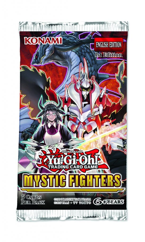 YU-GI-OH! - TCG - Mystic Fighters- 5 x card Booster Pack Options