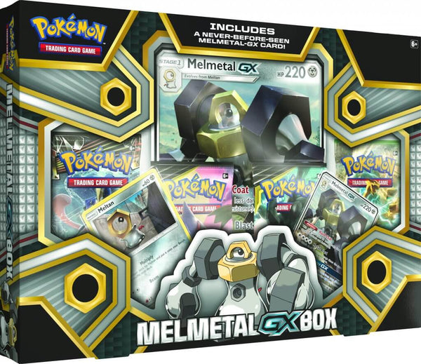 Pokemon - TCG - Melmetal - GX Box