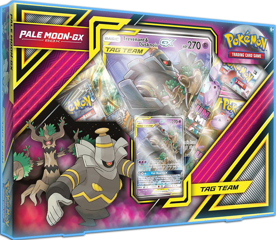 Pokemon - TCG - PALE MOON-GX Collection Box