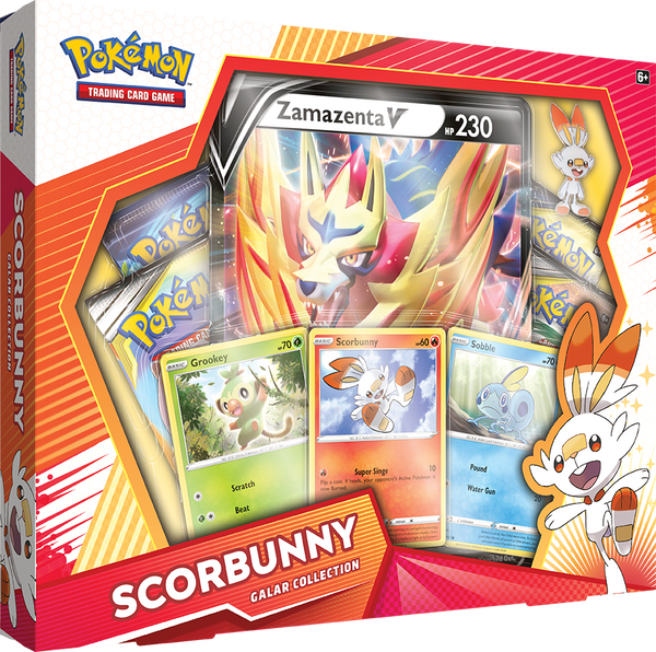 Pokemon - TCG - Galar Collection Box - Scorbunny & Zamazenta