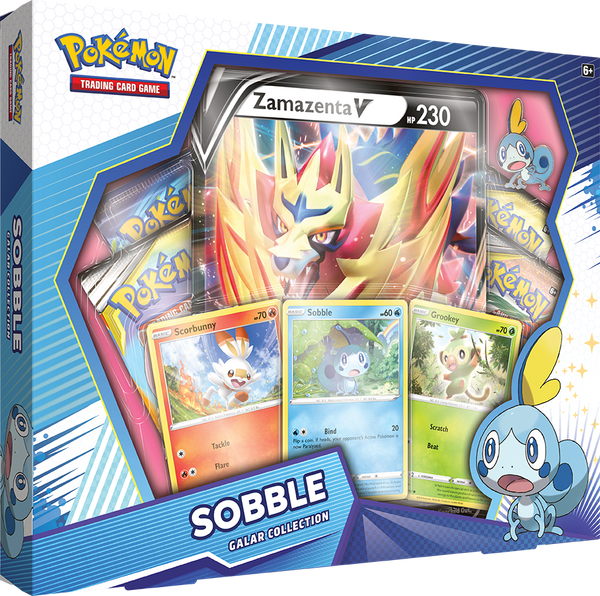 Pokemon - TCG - Galar Collection Box - Sobble & Zamazenta