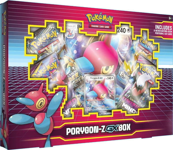 Pokemon - TCG - PORYGON-Z-GX Collection Box