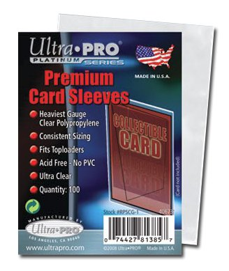 ULTRA PRO Card Sleeves - Platinum - 100ct