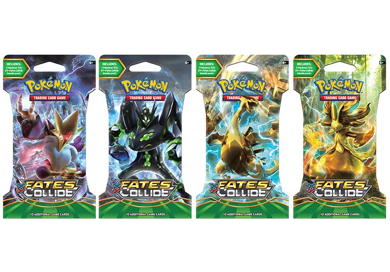 Pokemon - TCG - XY Fates Collide Booster Pack Options