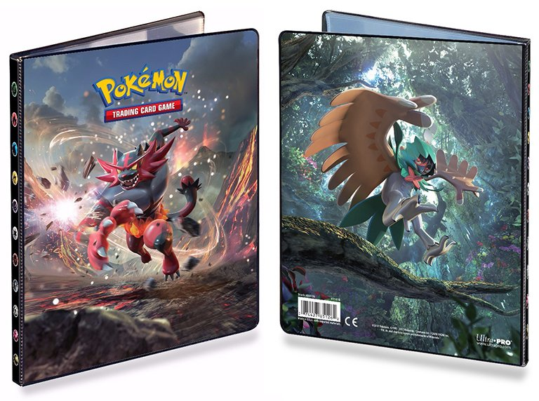 POKEMON - Portfolio - 4PKT Sun and Moon 6 Pack