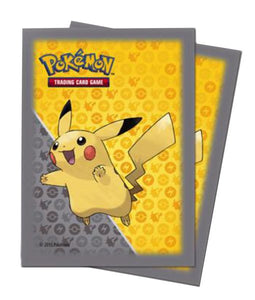 POKEMON - Deck Protector Sleeves - Pikachu