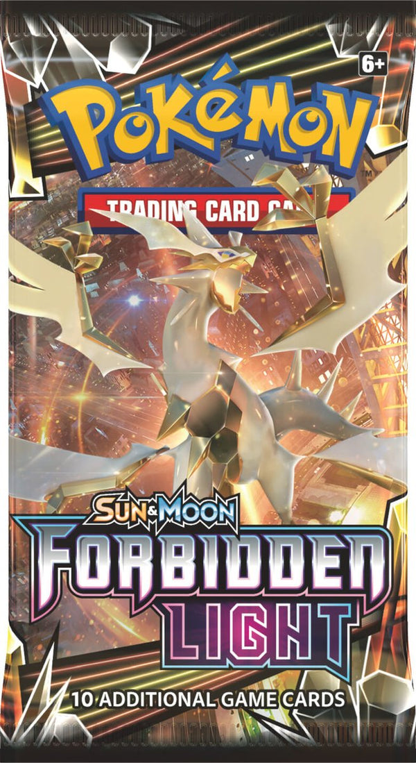 Pokemon Forbidden Light Booster Pack Options