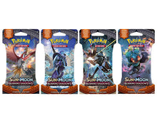 Pokemon - TCG - Sun & Moon Burning Shadows Booster Pack Options