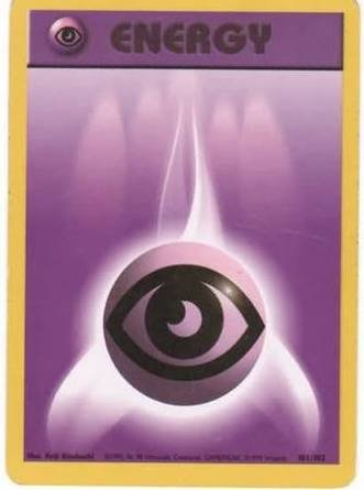 Pokemon - TCG - Psychic ENERGY Cards x10