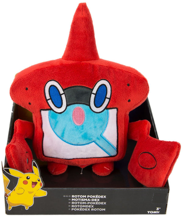 Pokemon Large Plush - Rotom Pokedex 10""