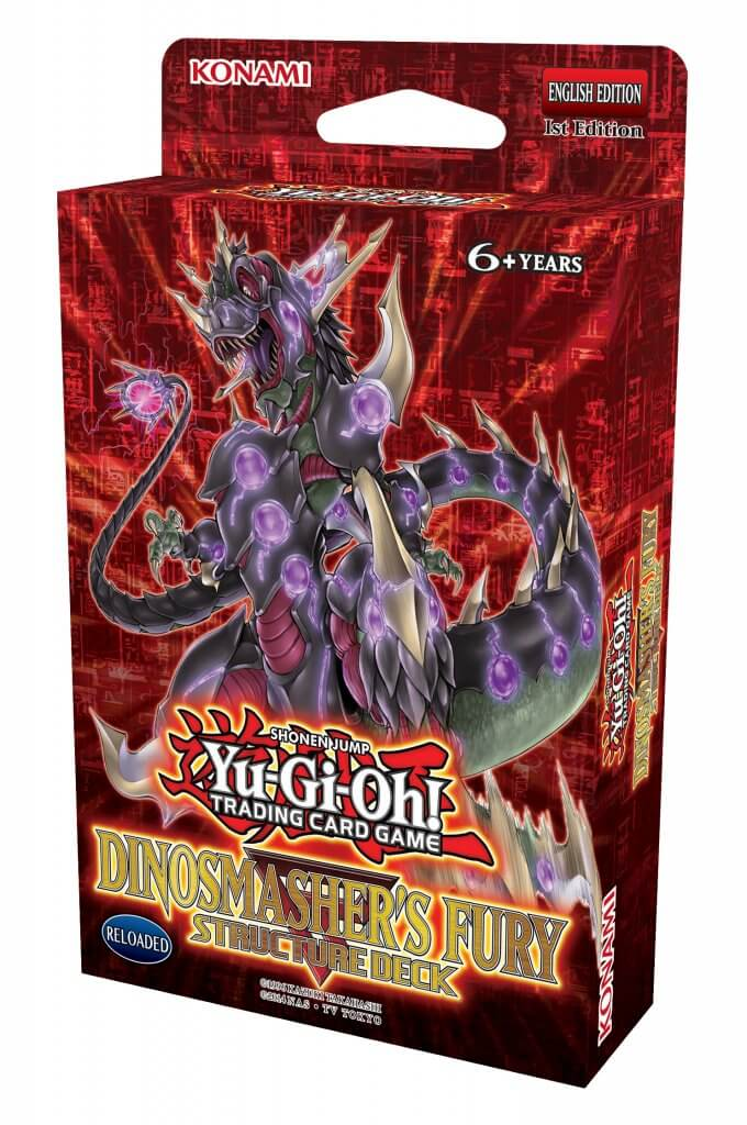 YU-GI-OH! TCG - Dinosmasher's Fury Structure Deck