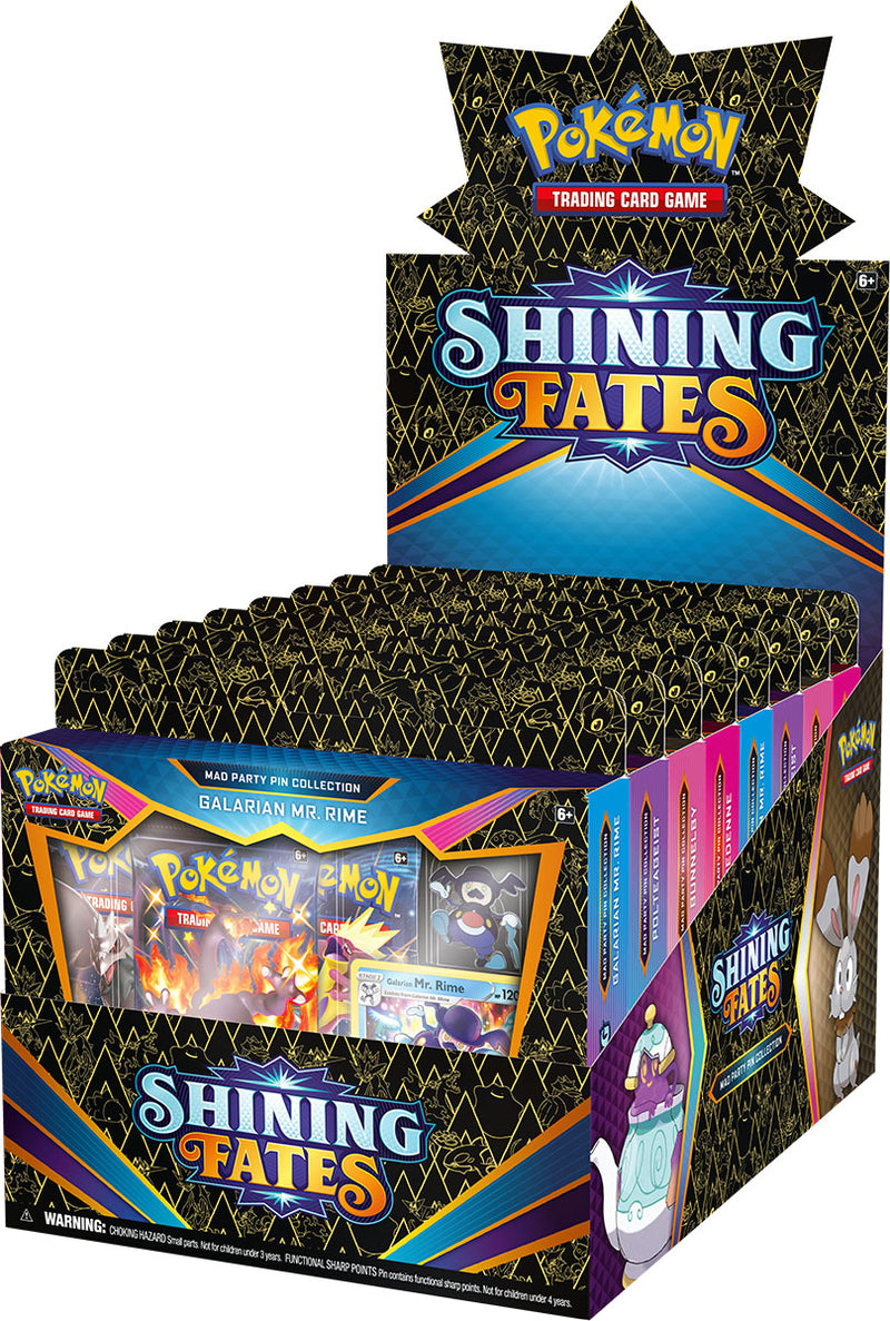 Pokemon - TCG - Mad Party Pin Collection - Shining Fates