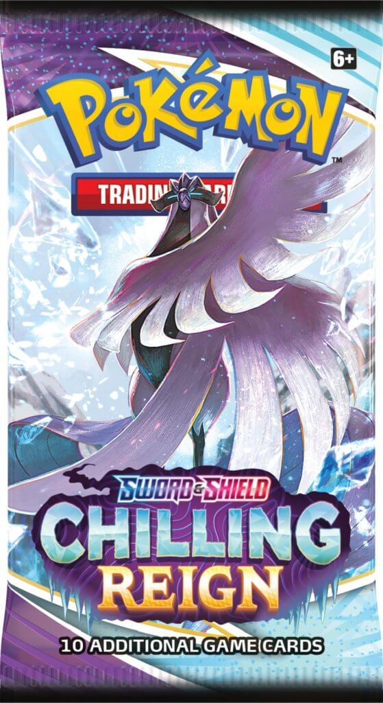 Pokemon - TCG - Chilling Reign Booster Blister Pack Options