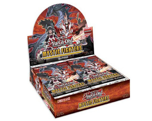 YU-GI-OH! - TCG Mystic Fighters- 5 x card Booster Box Options