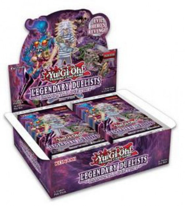YU-GI-OH! - TCG - Legendary Duelist: Immortal Destiny 5 x Card Booster Box Options