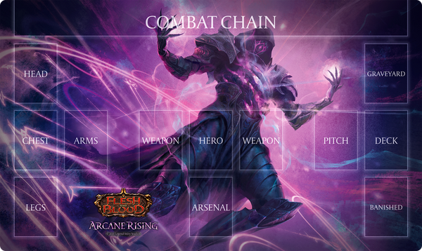 Flesh And Blood - TCG - Arcane Rising Playmat