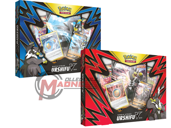 Pokemon - TCG - Single Strike & Rapid Strike Urshifu V Boxes