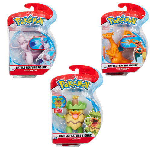 Pokemon - 4.5 Inch Battle Feature Figure Assorted Wave 3
