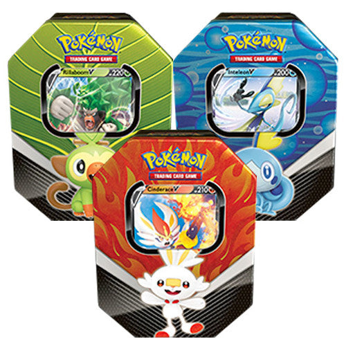 Pokemon - TCG - Galar Partner Tins