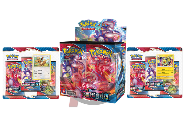 Pokemon - TCG - Battle Styles Booster Box Bundle #1