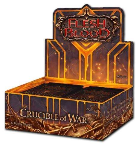 Flesh And Blood - TCG - Crucible of War Booster Box | 1st Edition