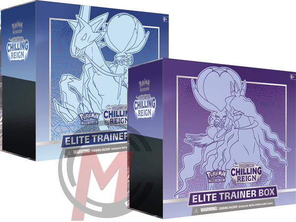 Pokemon - TCG - Chilling Reign Elite Trainer Box Options